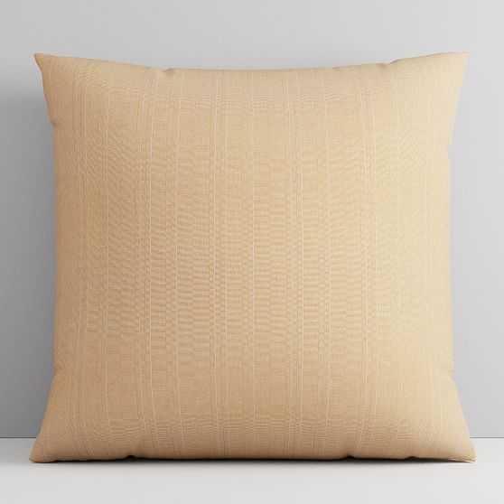 """Sunbrella Indoor/Outdoor Aviva Pillow, 18""""x18"""", Cumin - West Elm"""