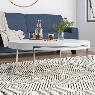 Carrington Sled Coffee Table - Wayfair