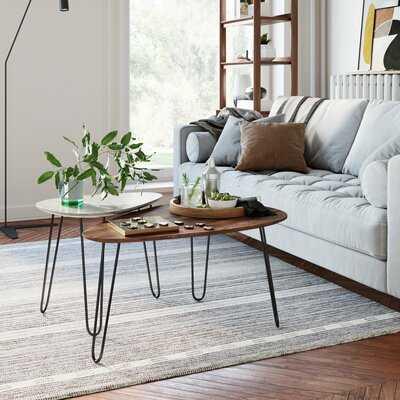 Brierfield 3 Legs 2 Nesting Tables - Wayfair