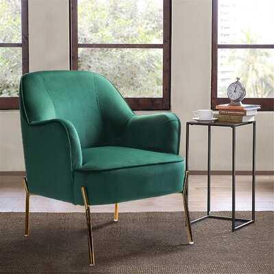 Dallin 28'' Wide Velvet Armchair - Wayfair
