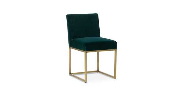 Oscuro Garland Green Dining Chair (Set of 2) - Article