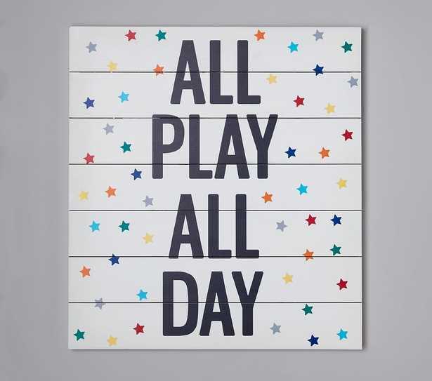 Play All Day Wall Art - Pottery Barn Kids