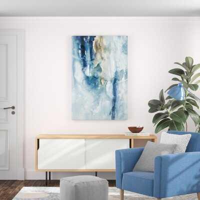 Peaceful Calm III by Joyce Combs - Wrapped Canvas Painting Print - Wayfair
