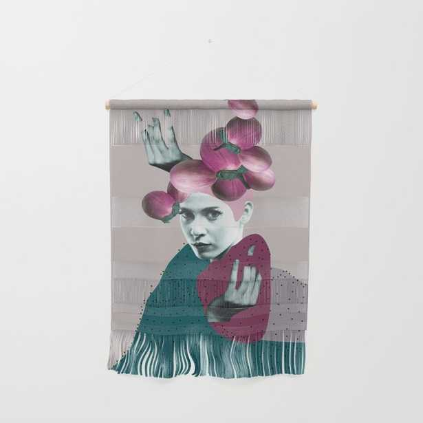 """Woman Portrait Collage Wall Hanging by Printsproject - Large 23 1/4"""" x 31 1/2"""" - Society6"""