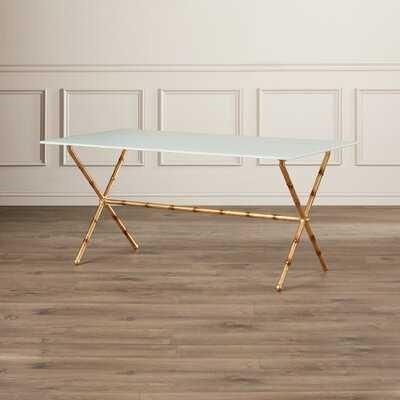 Rex Cross Legs Coffee Table - Wayfair