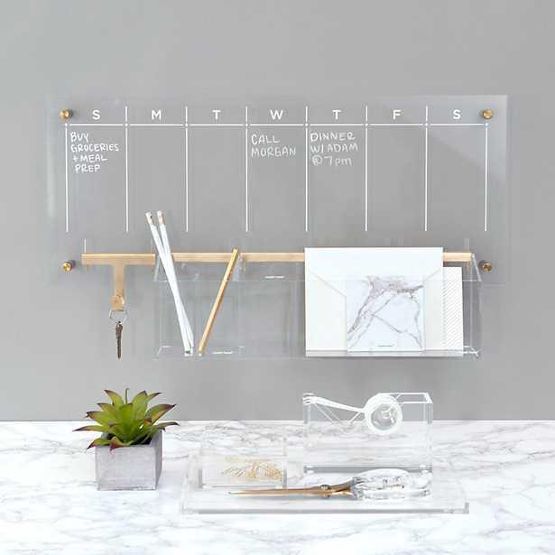 Acrylic Weekly Wall Calendar Bundle   - Ballard Designs - Ballard Designs