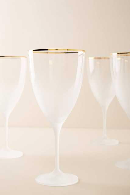 Dobra Wine Glasses, Set of 4 - Anthropologie