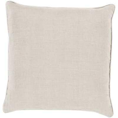 Aamena Square Linen Pillow Cover - Wayfair