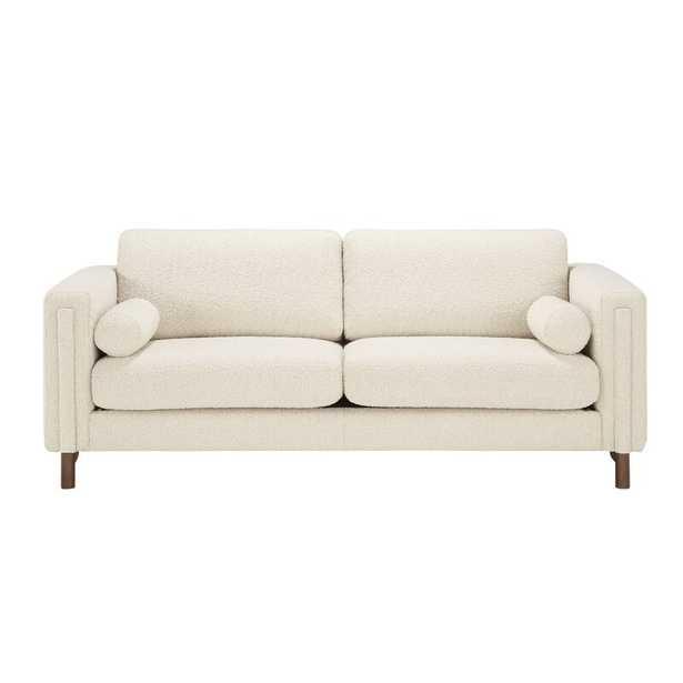 """Bobby Berk Home 87"""" Square Arm Sofa Upholstery Color: Ivory - Perigold"""