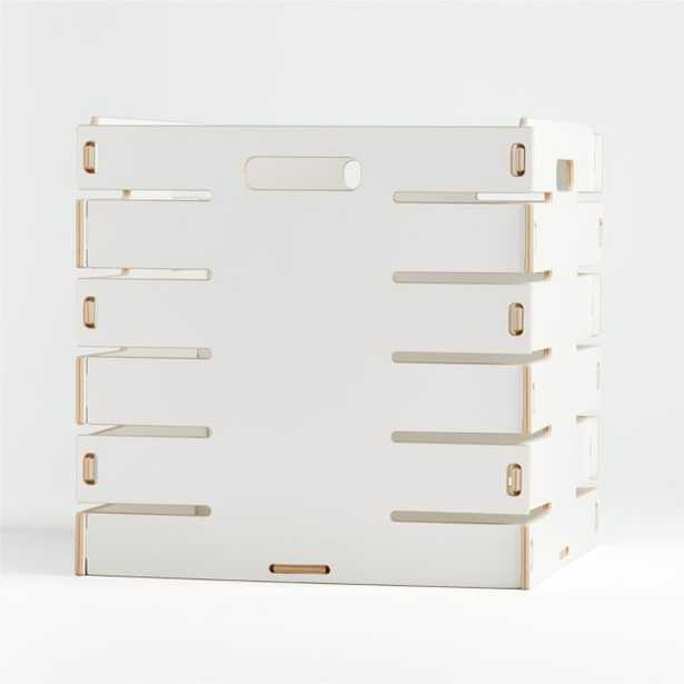 Sprout Large White Crate - Crate and Barrel