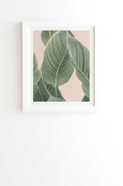 "Calah by Sisi and Seb - Framed Wall Art Basic White 19"" x 22.4"" - Wander Print Co."