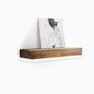 Reclaimed Wood Floating Shelf- 2Ft, Reclaimed Pine - West Elm