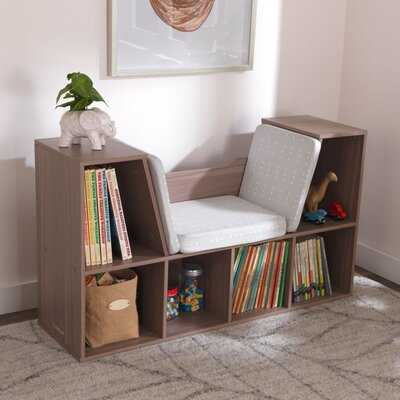 Bookcase With Reading Nook- Mint - Wayfair