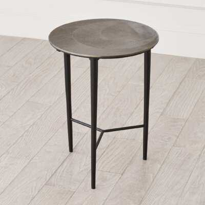 Circle Etched End Table - Wayfair