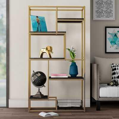 Stambaugh Geometric Bookcase - Wayfair