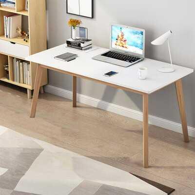 Sabion Reversible Solid Wood Desk - Wayfair