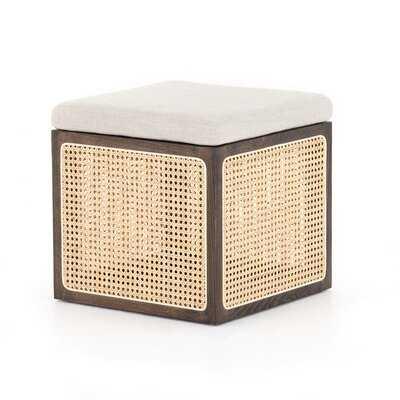 "Miranda 18"" Wide Square Cube Ottoman - Wayfair"