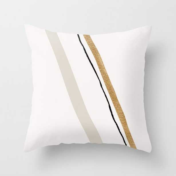 """Minimal Space 10 Couch Throw Pillow by Georgiana Paraschiv - Cover (16"""" x 16"""") with pillow insert - Indoor Pillow - Society6"""