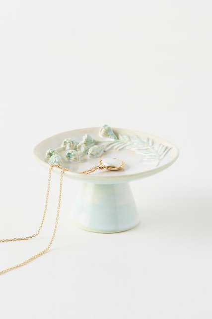 Sally Trinket Dish By Anthropologie in Green - Anthropologie