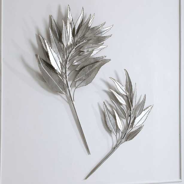 Palm Branches Metal Wall Decor, S/2 - Hudsonhill Foundry