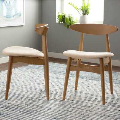 Oliver Solid Wood Dining Chair - set of 2 - AllModern