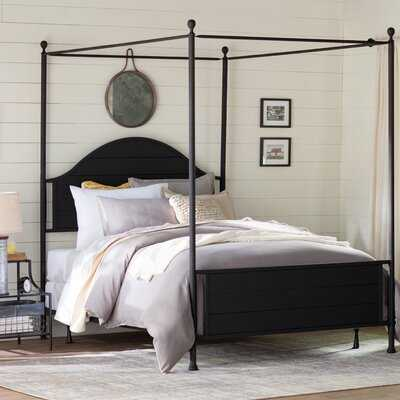 Jannery Canopy Standard Bed - Wayfair