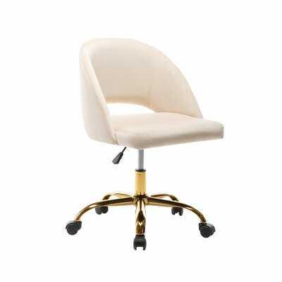 Romulus Task Chair -  Cream - Wayfair