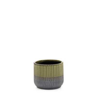 Green Indoor / Outdoor Ceramic Table Vase - Wayfair