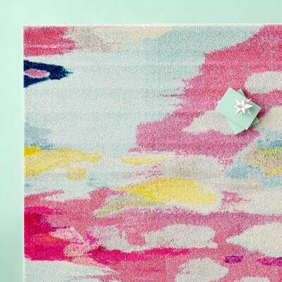 Andrei Abstract Pink Area Rug - Wayfair