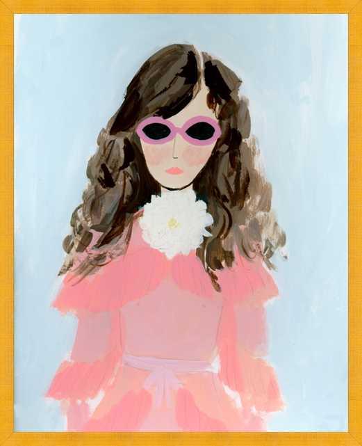 Gucci Girl by KT Smail for Artfully Walls - Artfully Walls