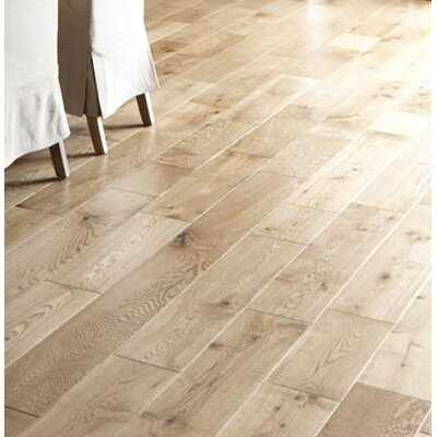 "Brady French Oak 3/4"" Thick x 6"" Wide x Varying Length Solid Hardwood Flooring - Birch Lane"