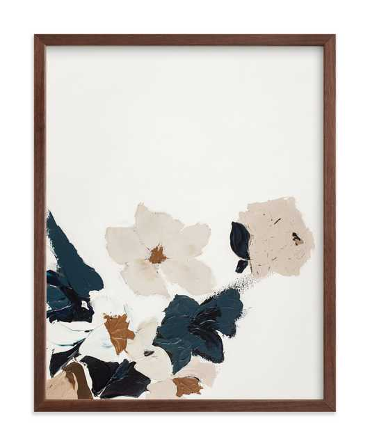 Abstract Botanical Floral Diptych I Art Print - Minted