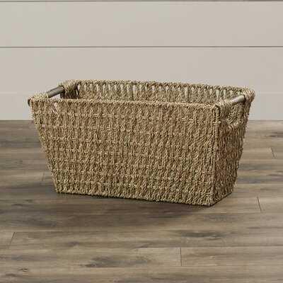 Petrone Wicker/Rattan Basket - Birch Lane