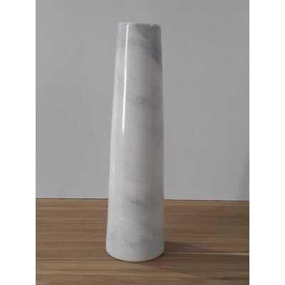 White 14'' Indoor/Outdoor Stoneware Floor Vase - Wayfair