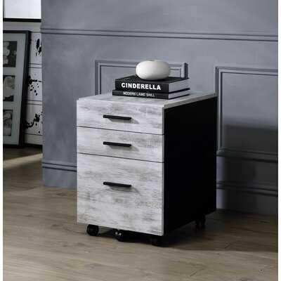 3-Drawer Mobile Vertical Filing Cabinet - Wayfair