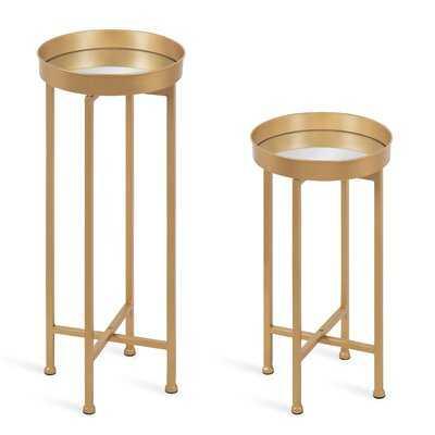 Dishman Tray Top Nesting Tables - Wayfair