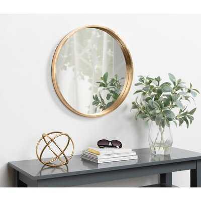 Priestley Riesner Modern & Contemporary Accent Mirror - Wayfair