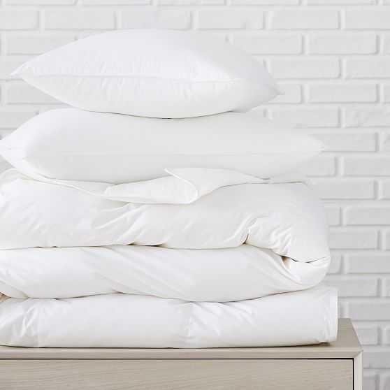 Cooling Down Alternative Duvet & Pillow, King Duvet & King Pillows, All Season/Soft - West Elm