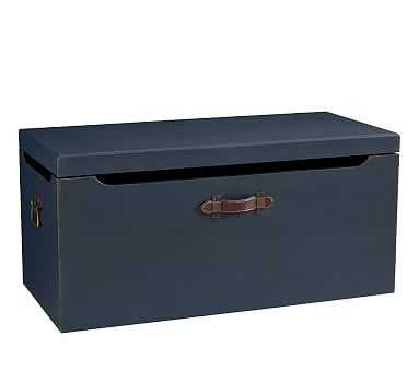 Tucker Toy Chest, Weathered Navy - Pottery Barn Kids