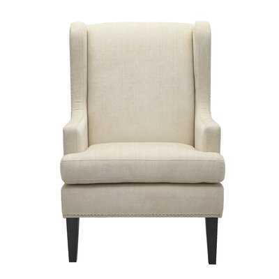 Cassye Wingback Chair - Wayfair