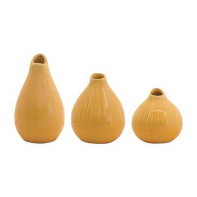 6 Piece Holston Terracotta Table Vase Set - Wayfair