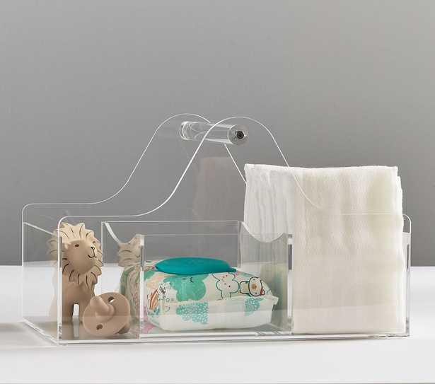 Functional Nursery Acrylic Storage, Diaper Caddy - Pottery Barn Kids