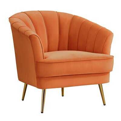 """Kirchner 20"""" Barrel Chair - Wayfair"""