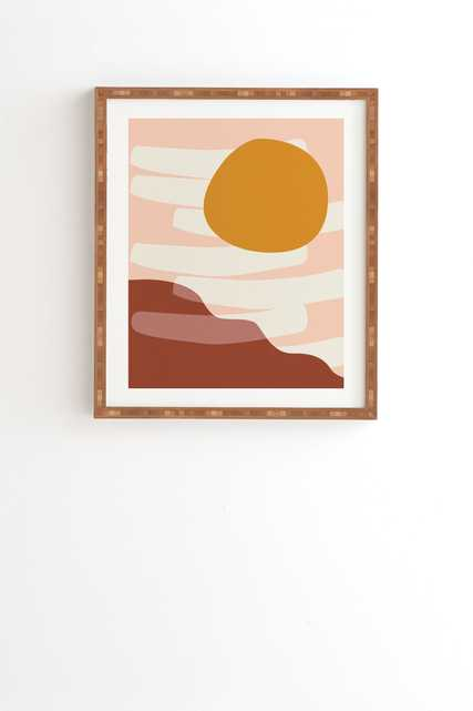 "Reminiscence 03 by mpgmb - Framed Wall Art Bamboo 30"" x 30"" - Wander Print Co."