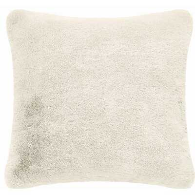 Sonique Faux Fur Throw Pillow - Wayfair
