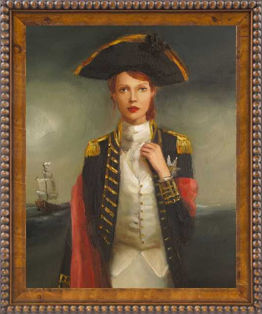 Her Face Launched A Thousand Ships by Janet Hill for Artfully Walls - Artfully Walls