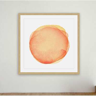 'Supposed Joy' Framed Painting Print - AllModern