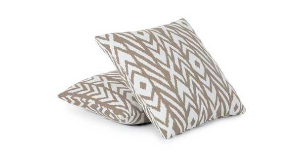 Sablon Sisal Beige Pillow Set - Article