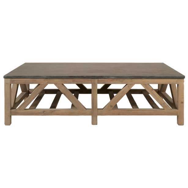 Blue Stone Coffee Table - Alder House
