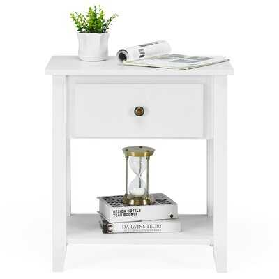 Red Barrel Studio® Nightstand Beside Table Chest Sofa Table End Table Accent Table Black - Wayfair
